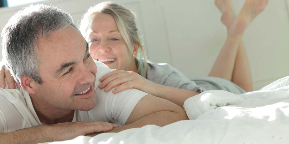 Menopause is a time of change for both partners